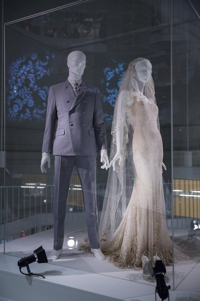 Kate Moss Wedding Dress at V&A Wedding Dresses 2014
