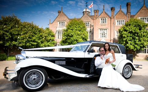 BG Vintage Sports Car weddings