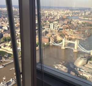 London Bridge from the Shard