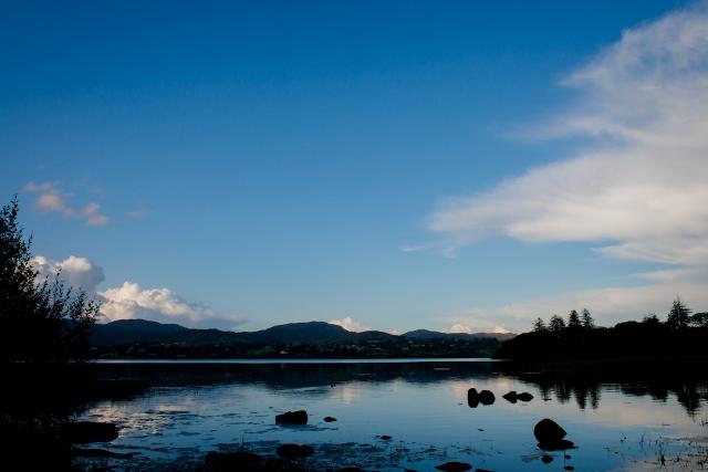 Lough Eske scenery