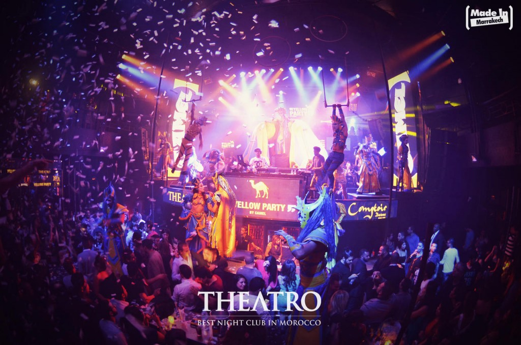 TheatrO nightclub Marrakech