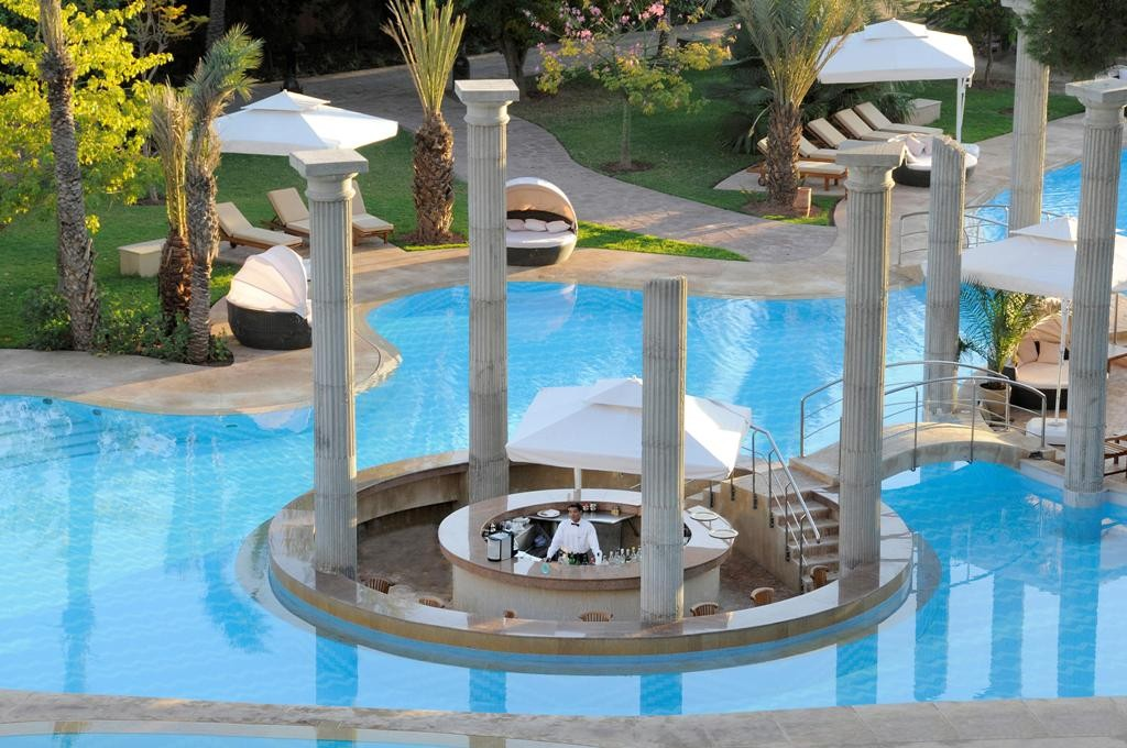 Biggest pool in Morocco