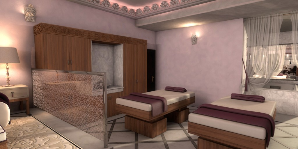 Couples spa at Es Saadi Palace