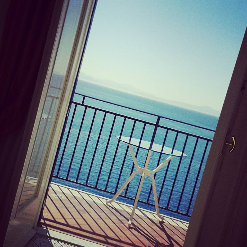 Hotel Santa Caterina room view